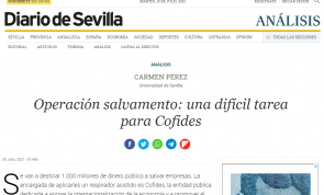 Operación salvamento: una difícil tarea para Cofides