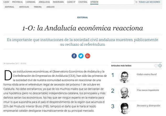 la Andalucía económica reacciona