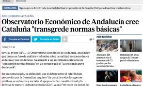 Imagen de la noticia en el periodico digital de La Vanguardia