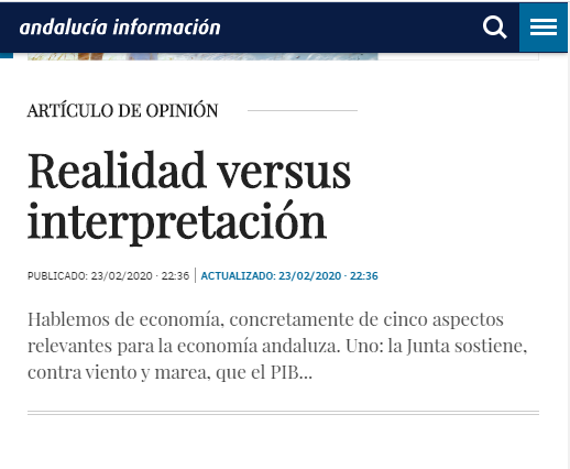 realidad versus interpretacion